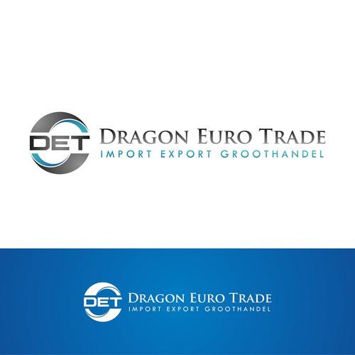 Logo design for wholesale Dragon Euro Trade