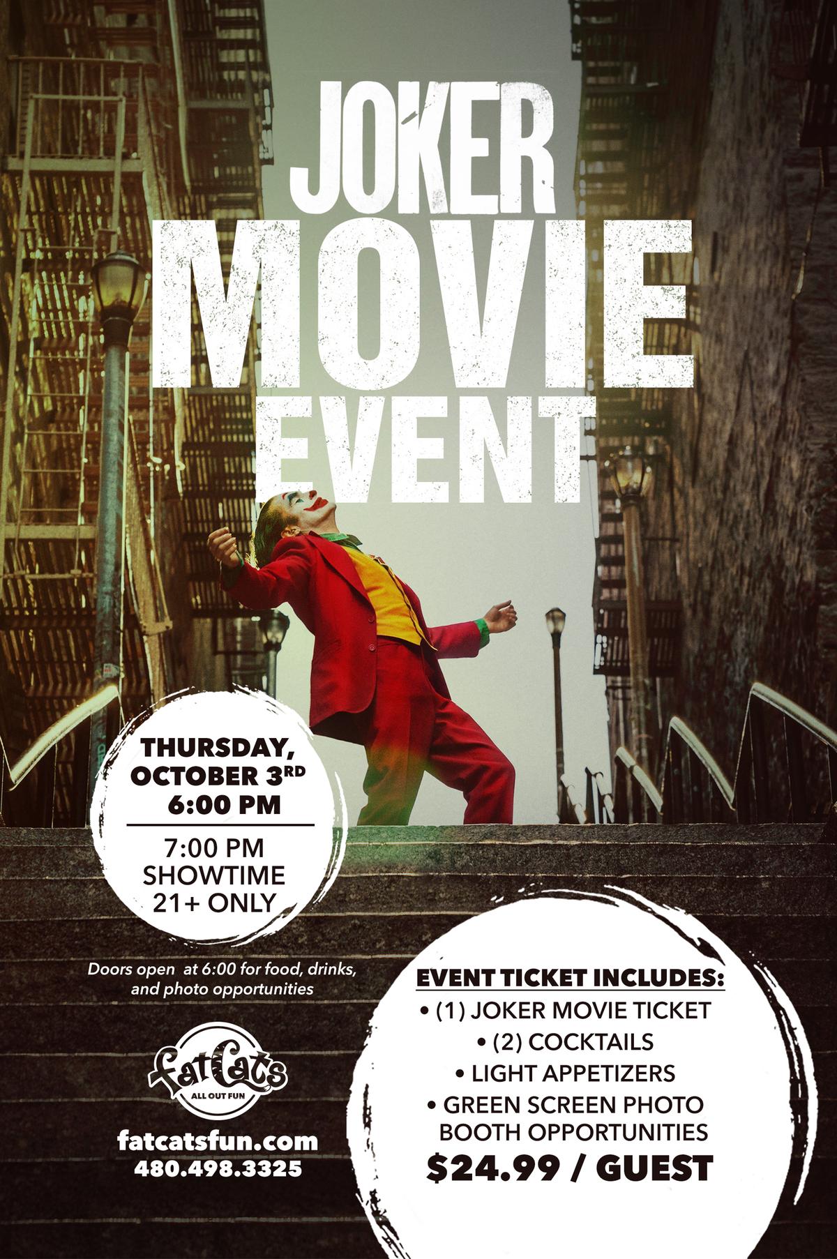 Joker Movie Event Poster