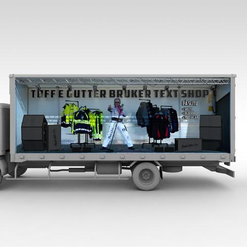 3D Truck Wrap