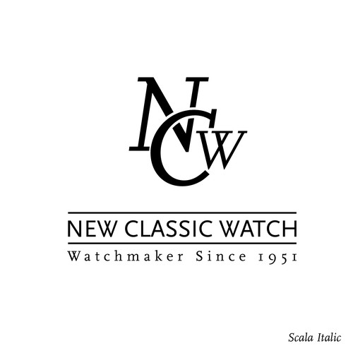Logo Concept for Watch manufracture