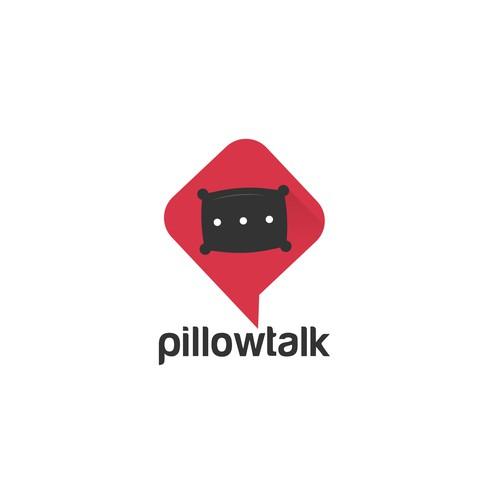 Pillowtalk logo design concept