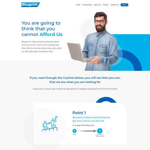 """""""How it works"""" page Design"""