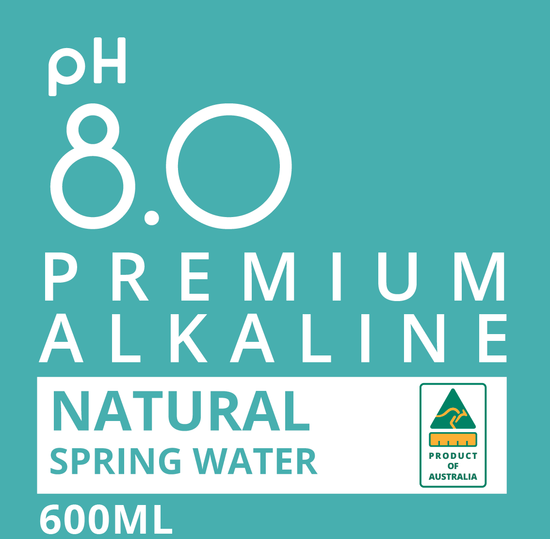 ALKALINE Bottle Water Design