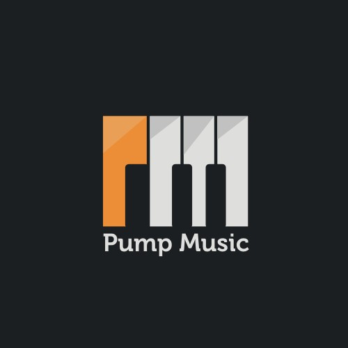 Pump Music needs a new logo and business card