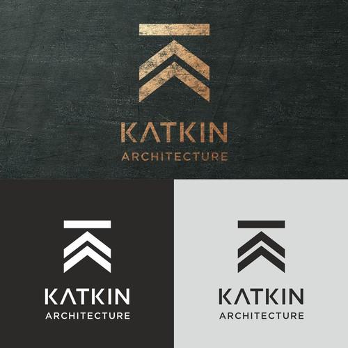 Logo design concept for Katkin Architecture,
