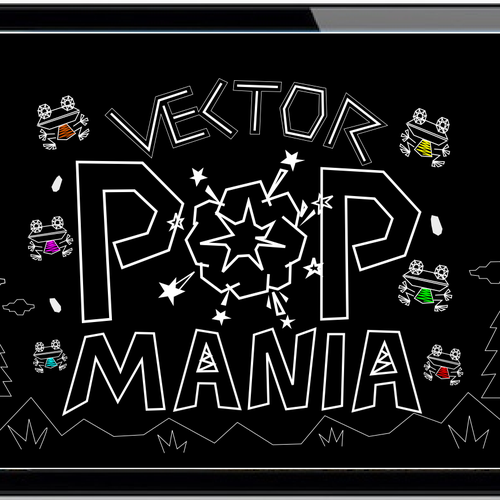 Create a winning design for Vector Pop Mania