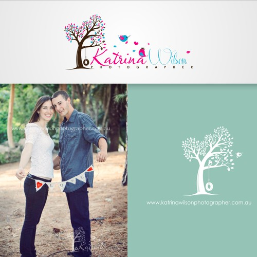 Katrina Wilson Photographer needs a new logo