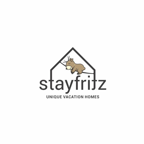 Logo concept for StayFritz