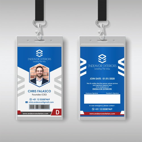 Endeavor ID Card