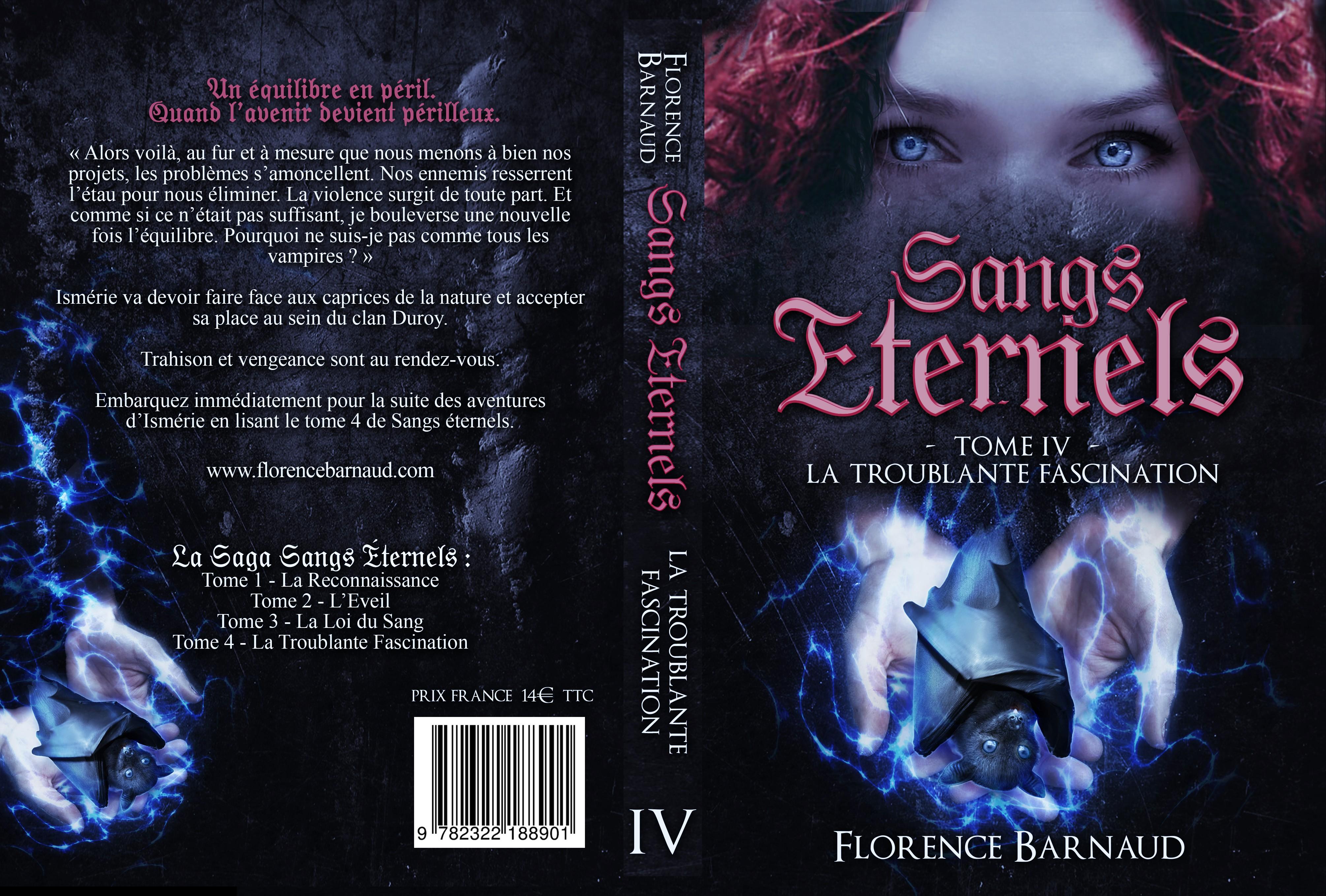 Sangs Éternels Tome 4 (couverture complète)