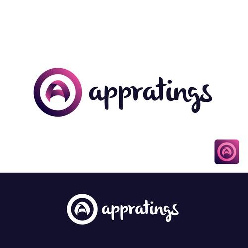Engaging concept for app logo design