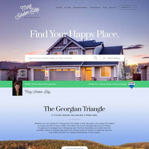 Website for Real Estate Broker