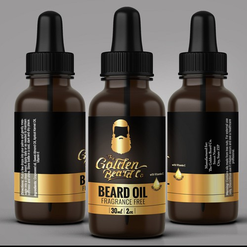 Golden Beard Co - Beard Oil