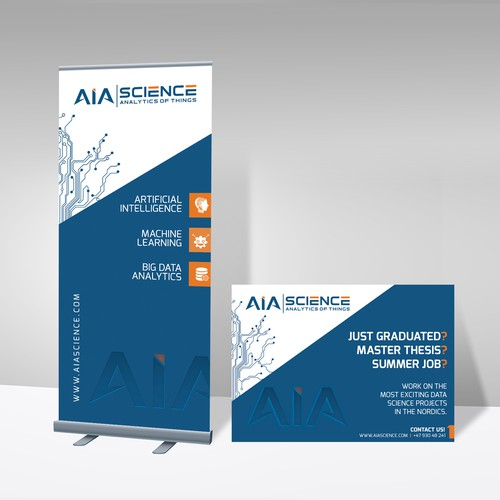 A modern banner for AIA