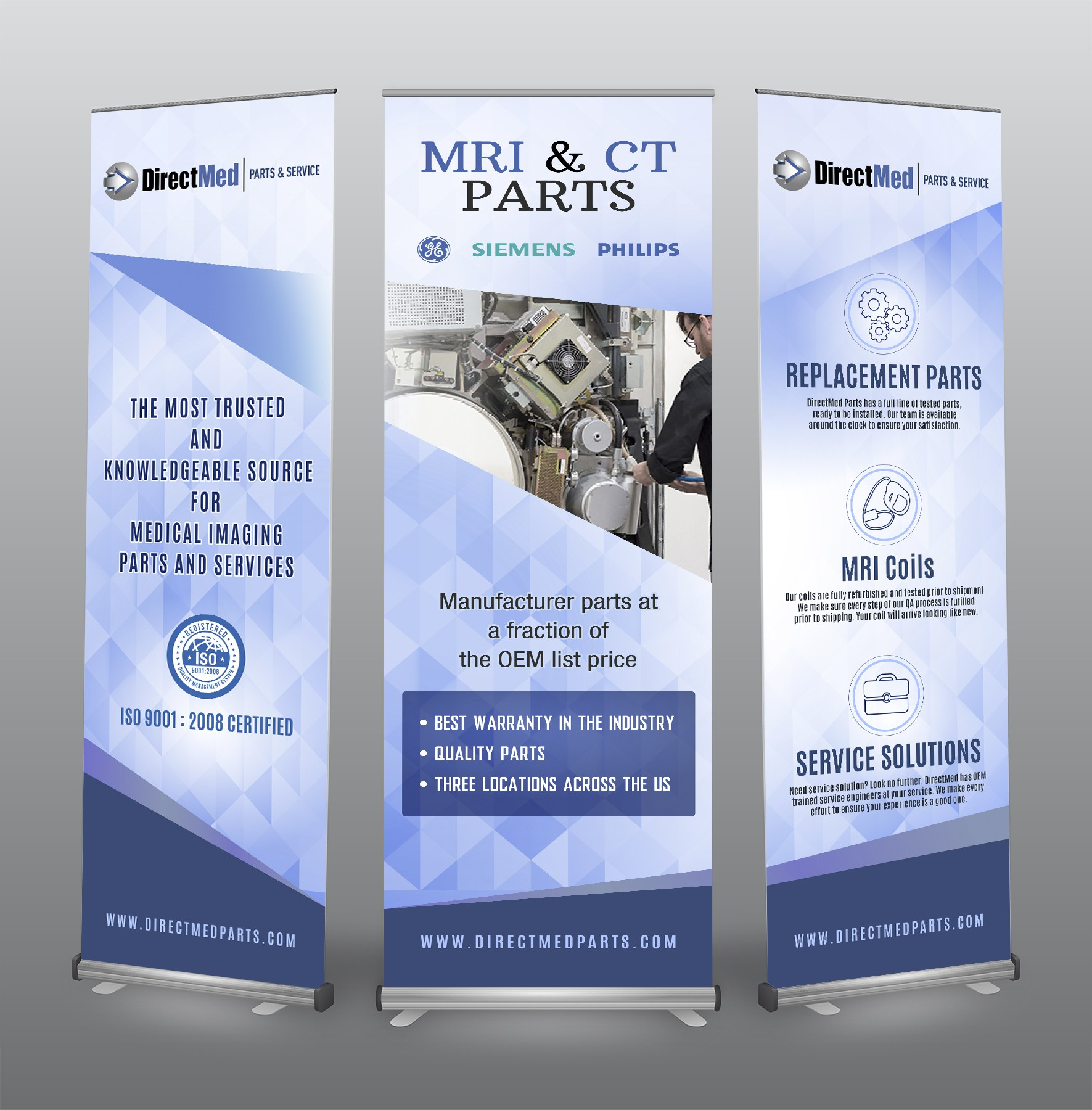 Create a Clean, Modern and Professional Trade Show Banner
