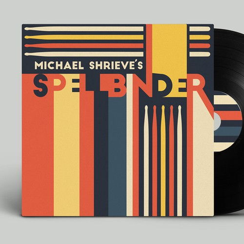 MICHAEL SHRIEVE'S SPELLBINDER CD Cover