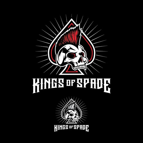 KINGS OF SPADE Logo design