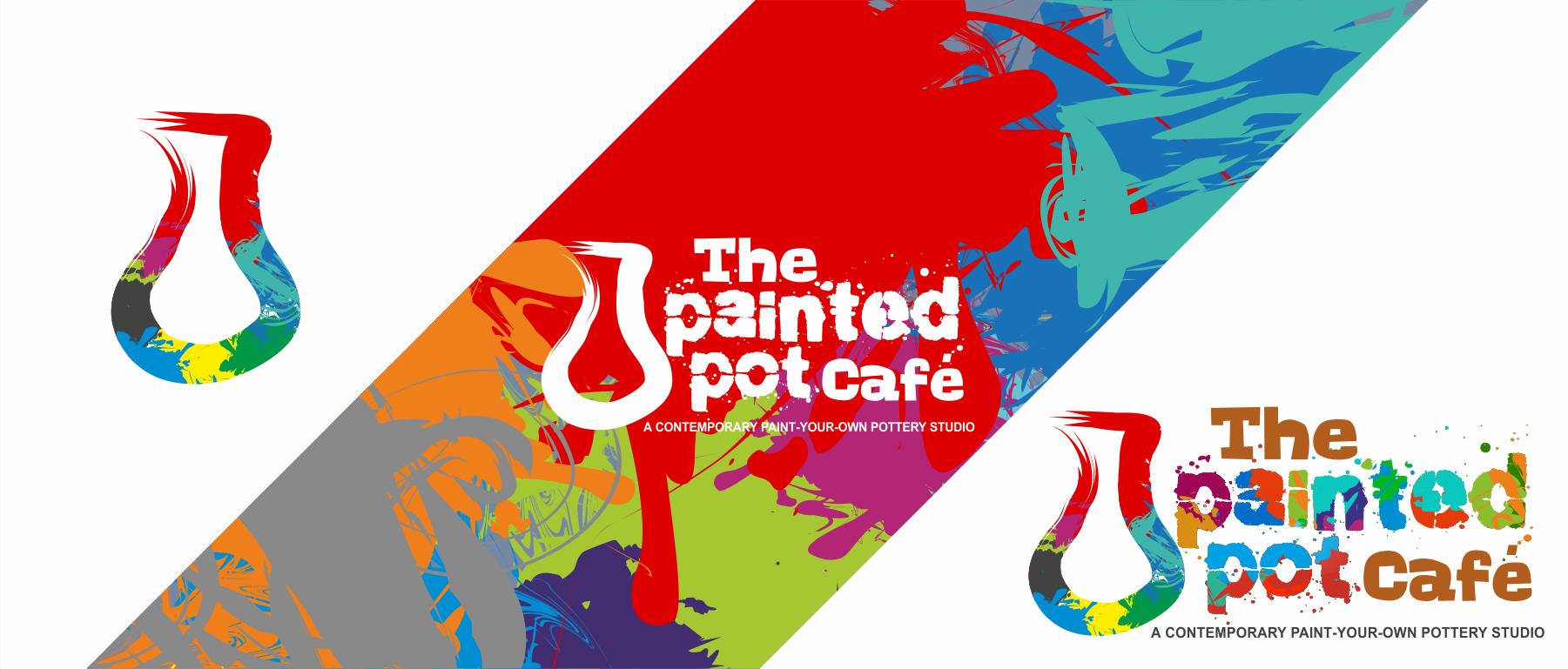 Create a Fun/Artistic Pottery Cafe Logo