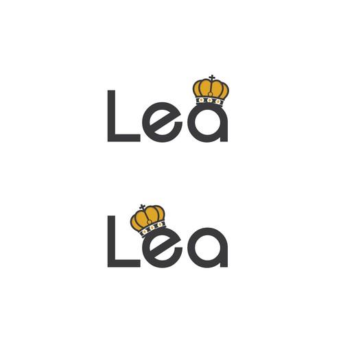 lea logo concept