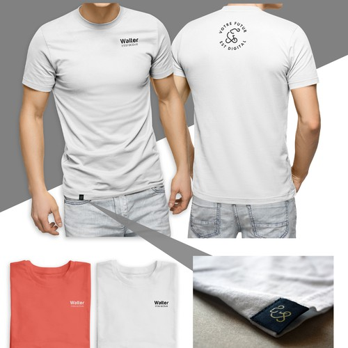 Professional and Simple T-shirt Design