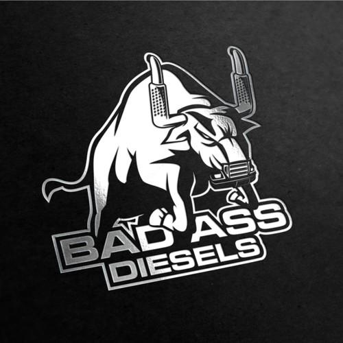 Badass logo for Badass Diesels