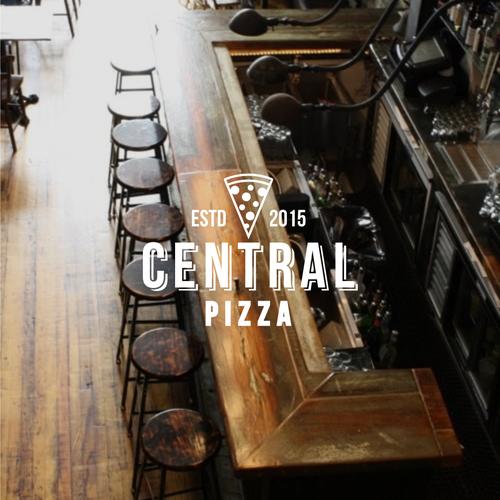 Logo concept for CENTRAL PIZZA