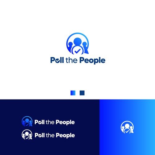 Modern Logo for Poll the People