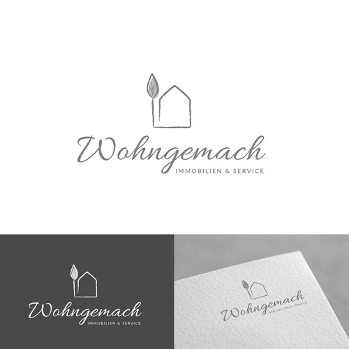 Logo concept for a real estate agent