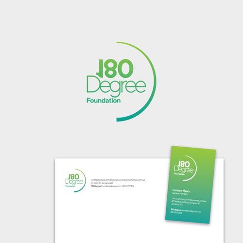 Logo for 180 Degree Foundation