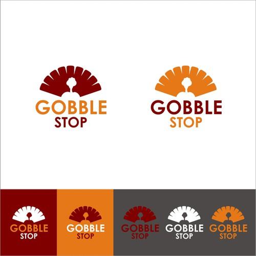 Gobble stop logo
