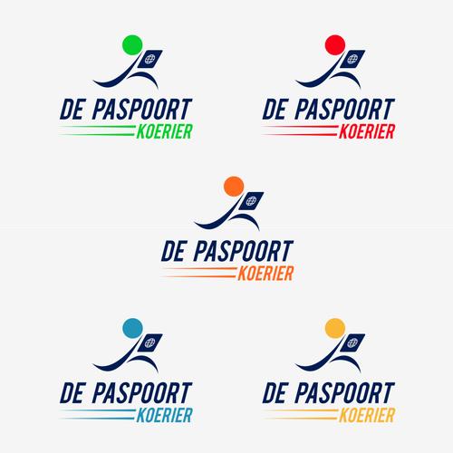 logo for de paspoort koerier