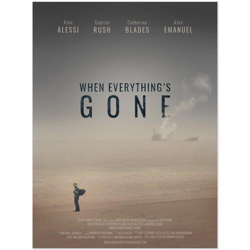 post-apocalyptic film poster