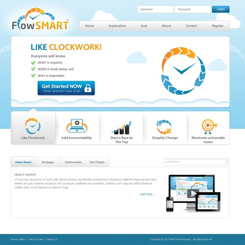 Flowsmart Website