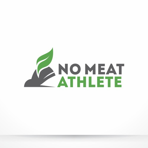 Logo design for No Meat Athlete