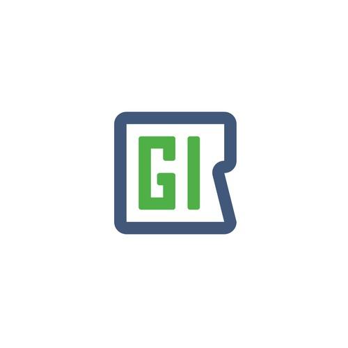 RGI personal initials logo