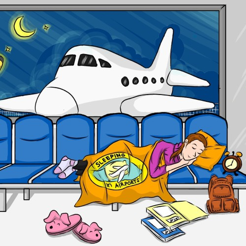 The Guide to Sleeping in Airports