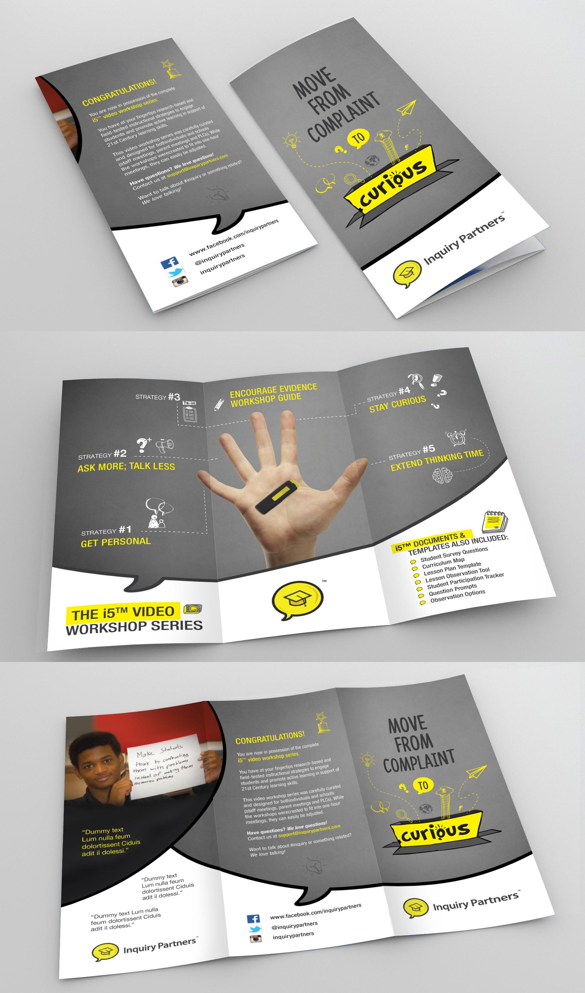 Brochure for Hip & Savvy 21st C Teachers