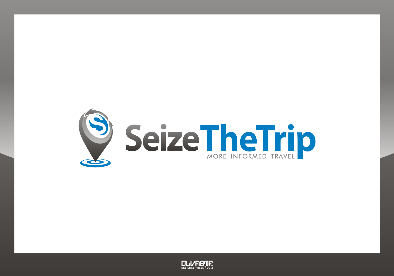 Seize Your Trip -- logo for active, engaged travel community site!