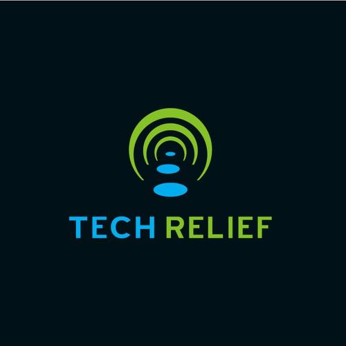 New logo concept for Tech Relief