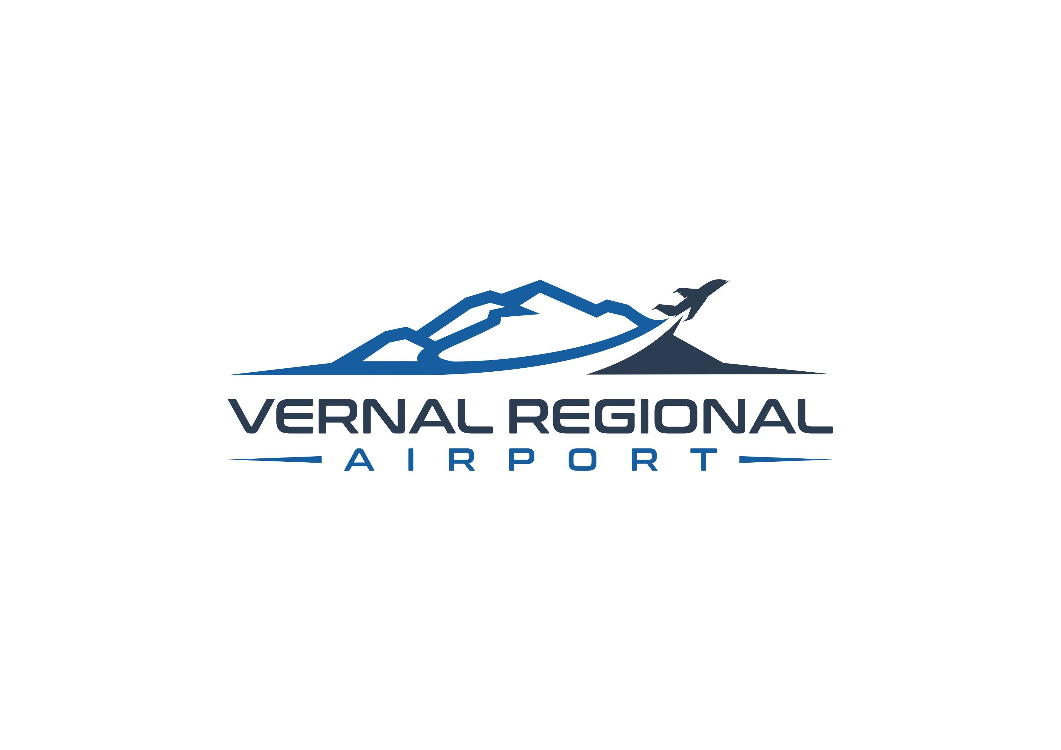 Vernal Regional Airport looking for clean, sleek and professional logo