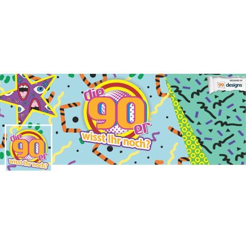 90s / 90er größte Fanpage in Deutschland sucht neue Facebook Grafiken