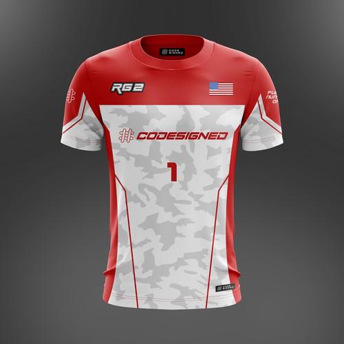 E-Sport Gaming Jersey/T-Shirt