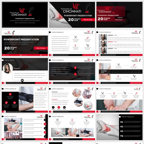 Orthopedics PowerPoint Template