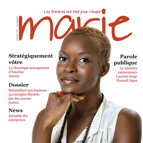 Magazine cover Marie