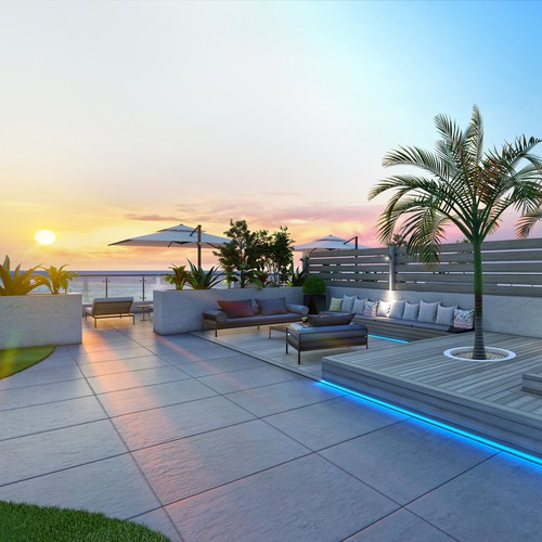 Rooftop design and visualisation