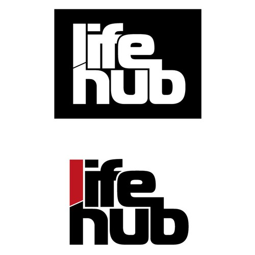 Create a strong, clean logo for Life Hub that represents unity and progression for our Health and Fitness business.
