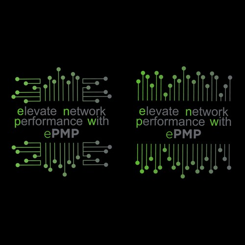 A design to represent a performing network.