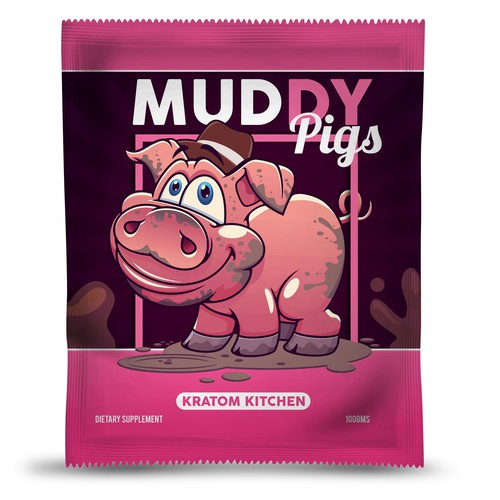Packaging for muddy pigs