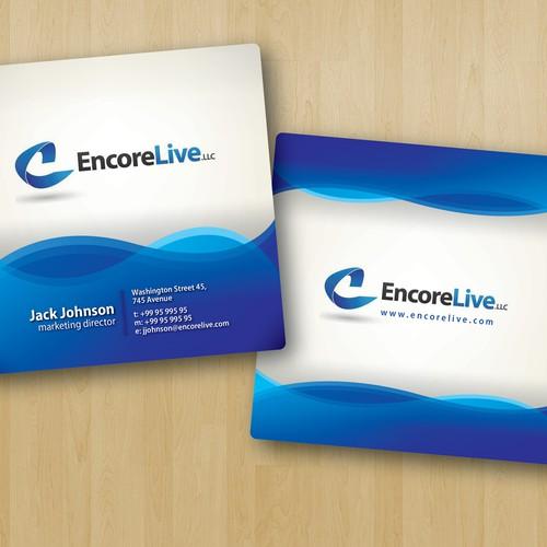 Encore Live LLC Business Card