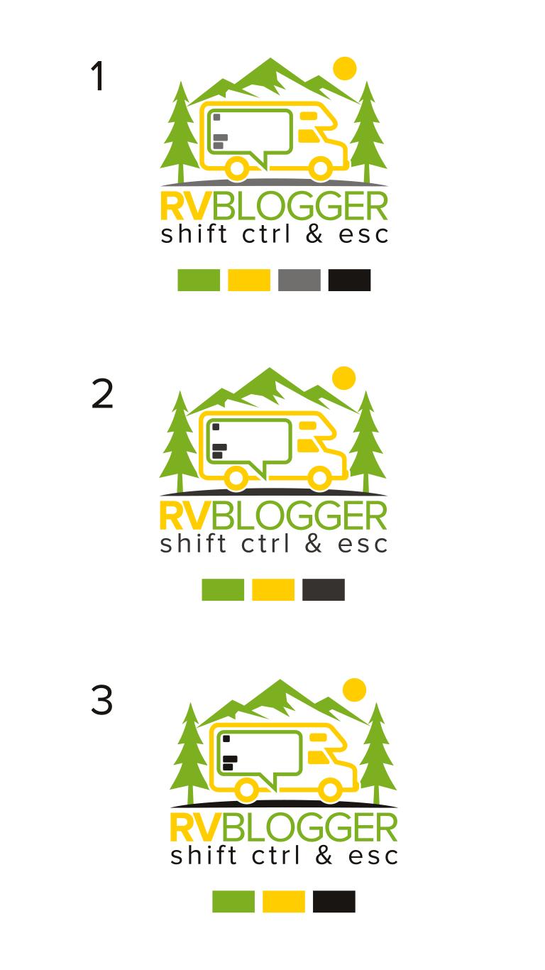 RV Blogger needs a Logo to help aspiring RVers to shift control and escape!